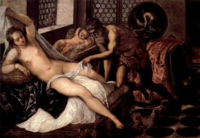 Jacopo Tintoretto. Venus, Vulcan and Mars