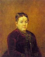 Василий Григорьевич Перов. Портрет неизвестной