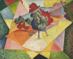 Diego Maria Rivera. Landscape