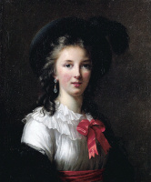 Элизабет Виже-Лебрен. Автопортрет