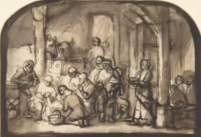 Самюэл ван Хогстратен. Поклонение пастухов