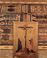 Фра Беато Анджелико. Главный алтарь святых Козьмы и Дамиана из доминиканского монастыря Сан Марко во Флоренции, центральная часть: Мадонна на троне