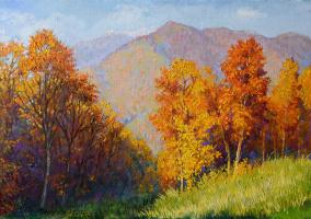 Olga G. Simonova. Autumn in the mountains