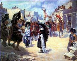 Луи Шарп. Танец буйвола