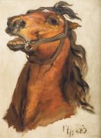 Ян Матейко. Эскиз коня Яна Собеского