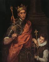 Эль Греко (Доменико Теотокопули). Святой король