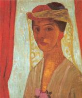 Паула Модерсохн-Беккер. Портрет женщины