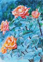 Анастасия Илюшина. Розы