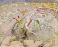 Пабло Пикассо. Коррида. Смерть женщины тореадора