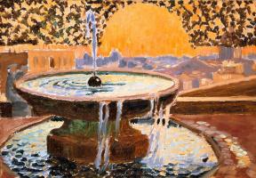 Maurice Denis. Fountain of the Villa Medici