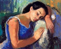 Миро Маиноу. Уставшая женщина