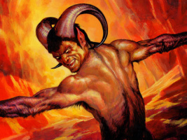 Йгино Джордано. Сатана