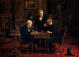 Томас Икинс. Шахматисты