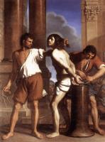 Джованни Франческо Гверчино. Бичевание Христа
