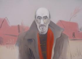 Ильяс Васыгович Усманов. Валера (х.м., 50х70 см., ноябрь 2009 г.)