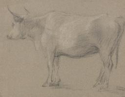 Thomas Gainsborough. Sketch cow