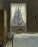 Вильгельм Хаммерсхёй. Интерьер спальни