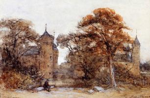 Йоханнес Босбум. Замок Вестховен в Дамбурге