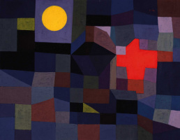 Paul Klee. Fire and the full moon