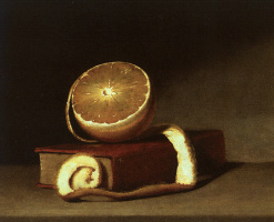 Raphaelle Peale. Still life with lemon