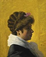Федерико Дзандоменеги. Портрет дамы