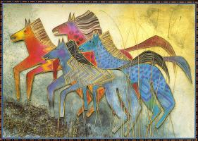 Лорел Берч. Сказочные лошади08