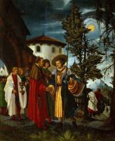Альбрехт Альтдорфер. Прощание святого Флориана с монастырем