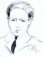 Франсис Пикабиа. Мужчина с черным галстуком