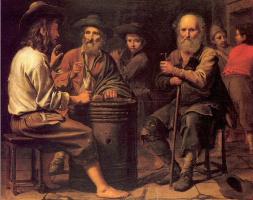Братья Найн. Крестьяне в таверне