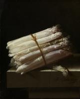 Still life with asparagus