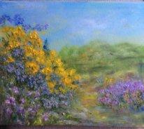 Рита Аркадьевна Бекман. Золотая эфедра, весна в Галилейских горах