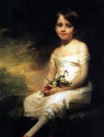 Генри Реберн. Маленькая девочка с цветами