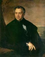 Василий Андреевич Тропинин. Портрет неизвестного