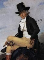 Jacques-Louis David. Portrait Of Pierre Seriziat