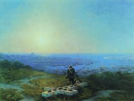 Ivan Constantinovich Aivazovski. Malakhov Kurgan (the Place where was mortally wounded Kornilov)