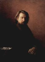 Николай Николаевич Ге. Портрет писателя Алексея Антоновича Потехина