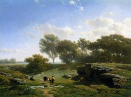 Виллем Рулофс. Летний пейзаж