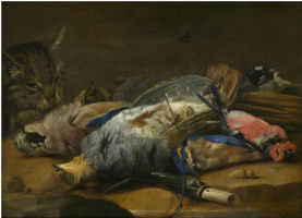 Карстиан Люикс. Кот и мертвые птицы