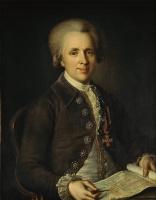 Иван Петрович Аргунов. Портрет главного архитектора адмиралтейства М.Н.Ветошникова. 1787