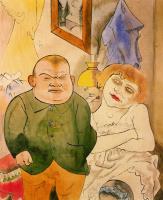Георг Гросс. Мужчина и женщина