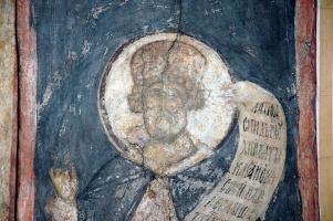 Андрей Рублев. Страшный суд: Царь Давид