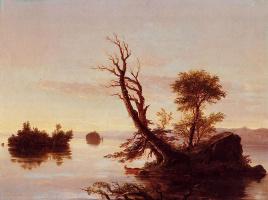 Томас Коул. Американское озеро