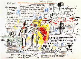 Jean-Michel Basquiat. Rebellion the boxer