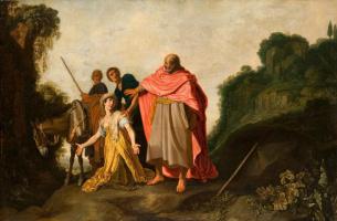 Питер Питерс Ластман. Пророк Елисей и сонамитянка