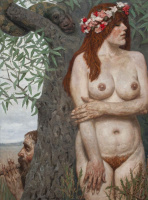 Гелий Михайлович Коржев. Адам и Ева