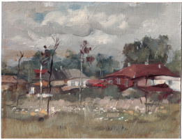 Arkady Pavlovich Laptev. In the village