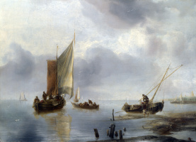 Ян ван де Каппель. Ветер