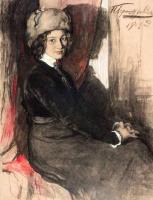 Иван Горюшкин-Сорокопудов. Портрет Фоминой В.В. 1909