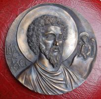 Евангелист Матфей, бронза, 2010г