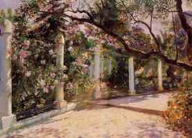 Жорж Антуан Рочегросс. Миндальные деревья в Алжире